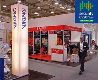 Мы на международной выставке по пожарной безопасности Security Essen 2016