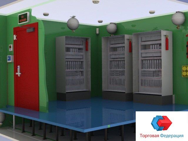 Картинка установки Импульс-20 в серверной